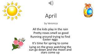 April by  V eronica