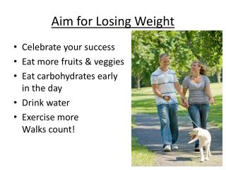 Aim for Losing Weight