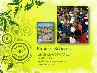 Pioneer  Schools