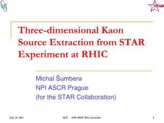 Three-dimensional  Kaon  Source Extraction from STAR Experiment at RHIC