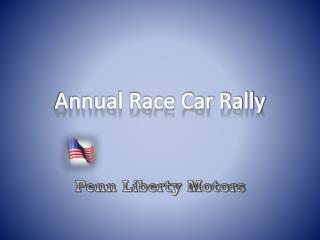 Annual Race Car Rally