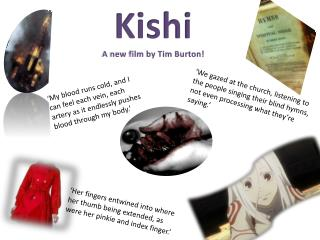 Kishi A new film by Tim Burton!