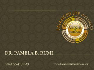 Dr. Pamela B. Rumi
