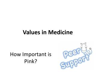 How Important is Pink?