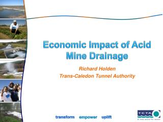 Economic Impact of Acid Mine Drainage