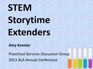 STEM Storytime Extenders