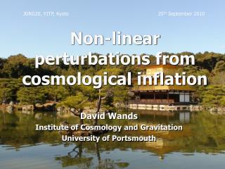 Non-linear perturbations from cosmological inflation