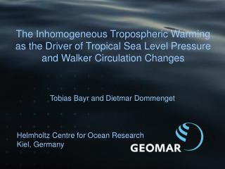 Helmholtz  Centre for Ocean Research  Kiel, Germany