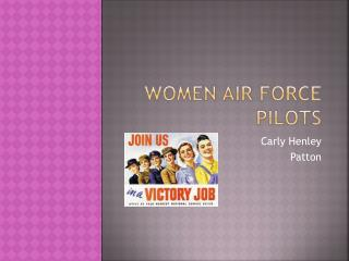 Women Air Force Pilots