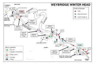 WEYBRIDGE WINTER HEAD