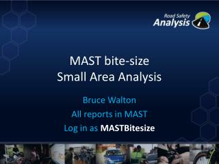 MAST bite-size Small Area Analysis