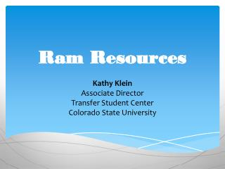 Ram Resources
