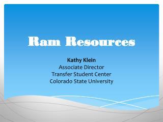 Ram Resources