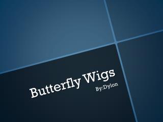 Butterfly Wigs