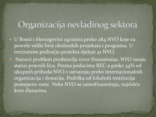 Organizacija nevladinog sektora