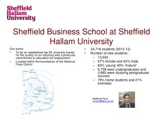 Sheffield Business School at Sheffield Hallam University