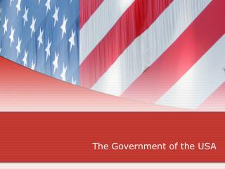 The Government of the USA