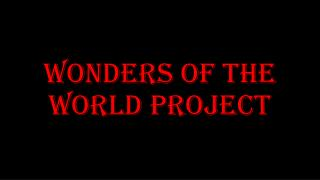 Wonders of the World project