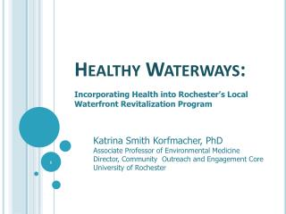Healthy Waterways: