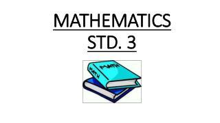 MATHEMATICS STD. 3