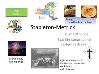 Stapleton- Metrick