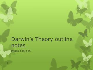 Darwin's Theory outline notes