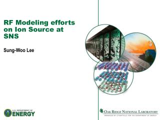 RF Modeling efforts  on Ion Source at SNS