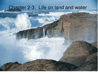 Chapter 2-3:  Life on land and water