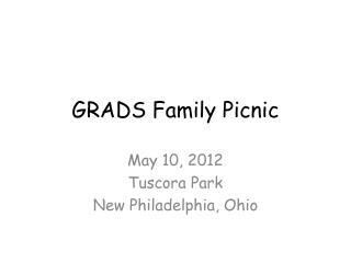 GRADS Family Picnic