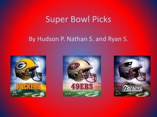 Super Bowl Picks