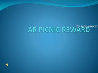 AR PICNIC REWARD