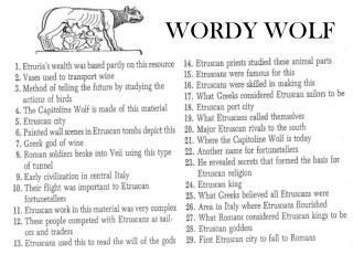 WORDY WOLF