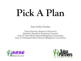 Pick A Plan