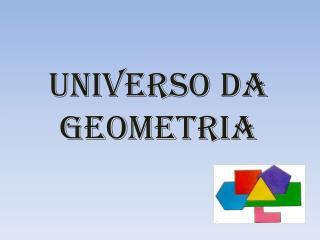 Universo da geometria