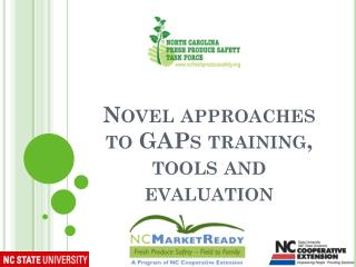 Novel approaches to  GAPs  training,  tools  and evaluation