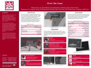 Pivot: The Game