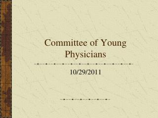 Committee of Young Physicians