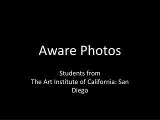 Aware Photos