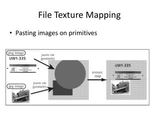 File Texture Mapping