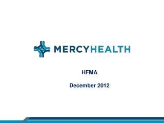 HFMA December 2012