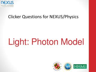 Light: Photon Model