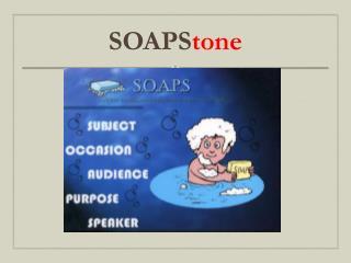 SOAPS tone