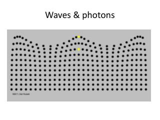Waves & photons