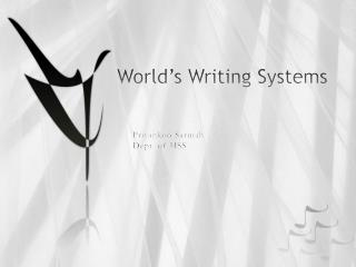World�s Writing Systems