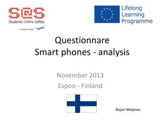 Questionnare Smart phones  -  analysis