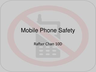 Mobile Phone Safety