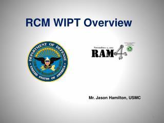 Mr. Jason Hamilton, USMC