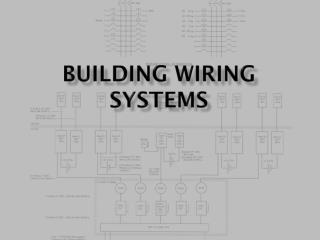 Building wiring systems