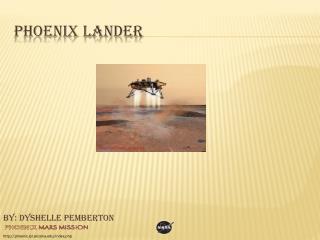 Phoenix Lander