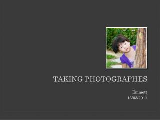 Taking  Photographes